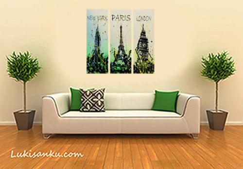 Lukisan kota